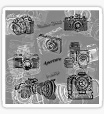 Cameras And Photography Sticker