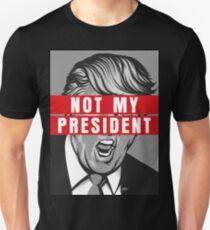Trump Not My President Shirt Slim Fit T-Shirt