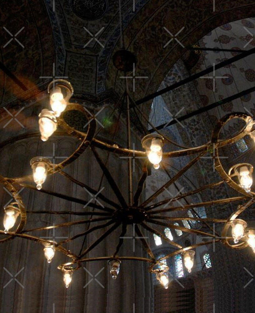 Blue Mosque Lights by SHappe