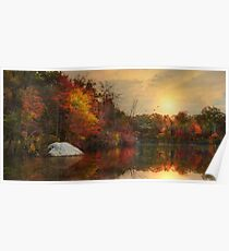 Autumn On The River Poster