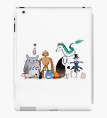 Ghibli Friends  iPad Case/Skin