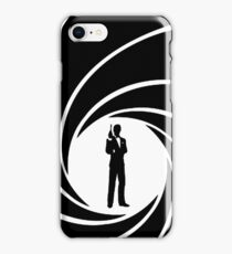 James Bond Silhouette iPhone Case/Skin