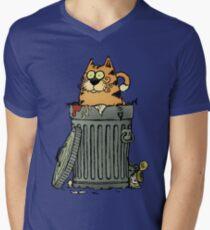 Stray cat Men's V-Neck T-Shirt