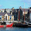 KIRKWALL HARBOUR   -  ORKNEY ISLANDS  -  SCOTLAND by Leslie-Ann