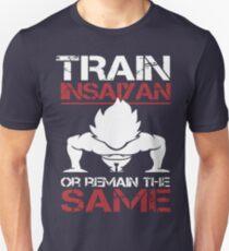 Train InSaiyan-Vegeta-3 Unisex T-Shirt