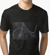 Cycling up hill Tri-blend T-Shirt