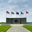 Australian Corps Memorial - le Hamel, WW1, France by Norman Repacholi