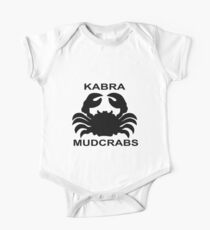 Kabra Mudcrabs Vintage Collection - Black Kids Clothes