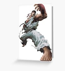 Ryu - Street Fighter Greeting Card