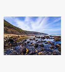 Fingal Beach, Cape Schanck, Mornington Peninsula, Victoria, Australia. Photographic Print