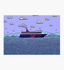 Cruise Liner Joyce Photographic Print