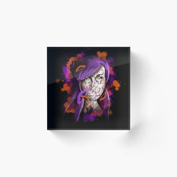 FireFoxx - Online Universe Acrylic Block
