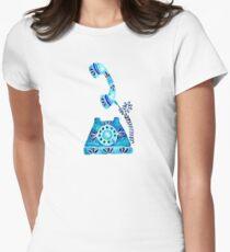 Vintage Rotary Phone – Blue Raspberry T-Shirt