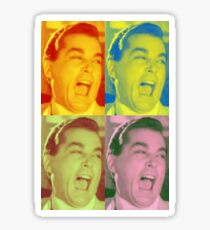 Ray Liotta Laugh Gangsters Movie Goodfellas Sticker