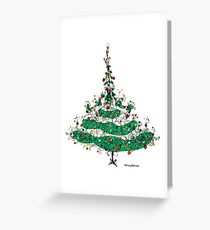 Christmas Dress Greeting Card