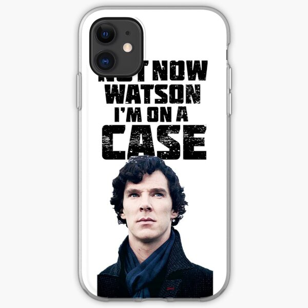 Sherlock  iPhone Soft Case
