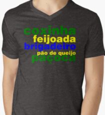 Brazil Men's V-Neck T-Shirt