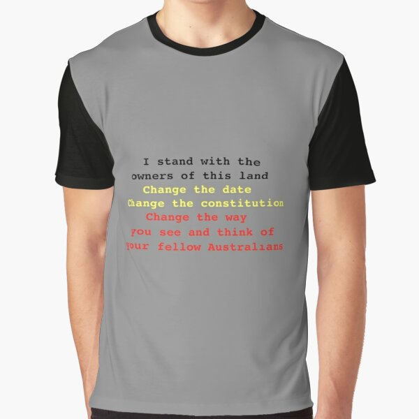 I stand with the owners of this land Graphic T-Shirt