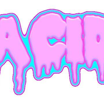 Acid pastel goth by ridindirty