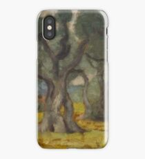 MAILLOL, ARISTIDE (Banyuls-sur-Mer  Pyrénées- Orientales) Les Oliviers. Ca.  iPhone Case/Skin
