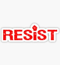 Resist Fist Sticker