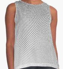 Abstract Wave Lines Contrast Tank