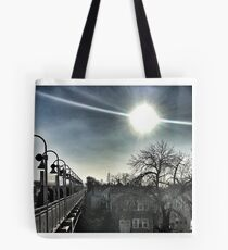 Chicago Commute  Tote Bag