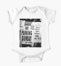 No Parking One Piece - Short Sleeve