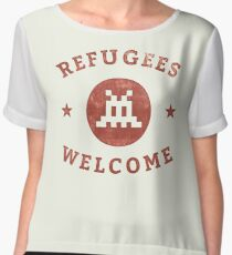Refugees Welcome! Chiffon Top