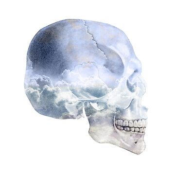 Head/Skull In The Clouds by sylo18