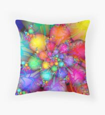Easter Eggs & Jelly Beans Throw Pillow