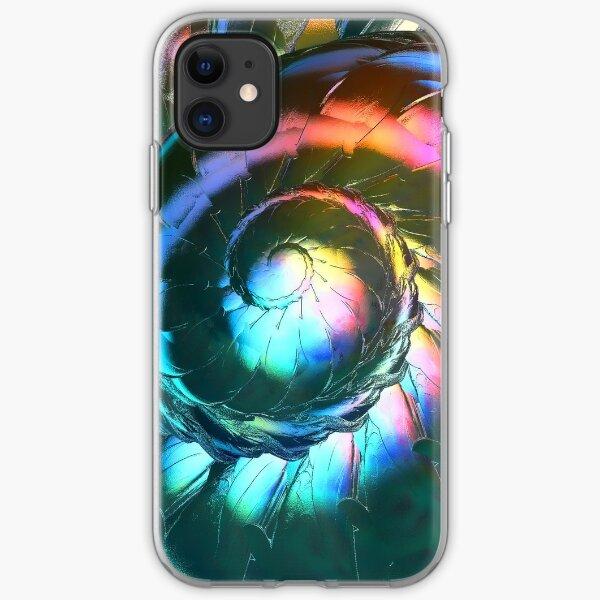 Foil Fractal  iPhone Soft Case