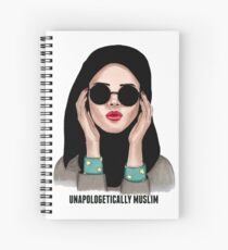 Hijabi Girl  Spiral Notebook