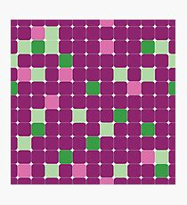 Color square background Photographic Print