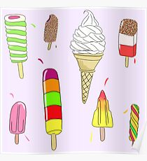 Ice Lolly Heaven Poster