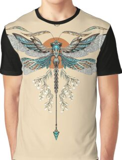 Dragon Fly Tattoo Graphic T-Shirt