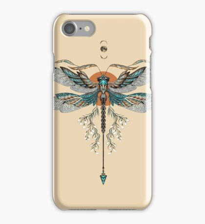 Dragon Fly Tattoo iPhone Case/Skin