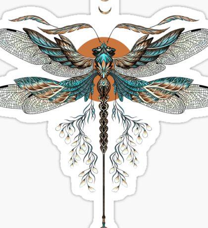 Dragon Fly Tattoo Sticker