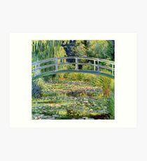The Water-Lily Pond by Monet Art Print