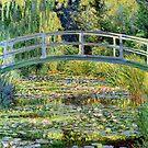 Der Seerosenteich von Monet von GalleryGreats