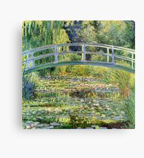 The Water-Lily Pond by Monet Metal Print