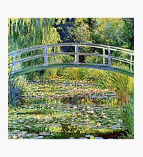The Water-Lily Pond by Monet Photographic Print