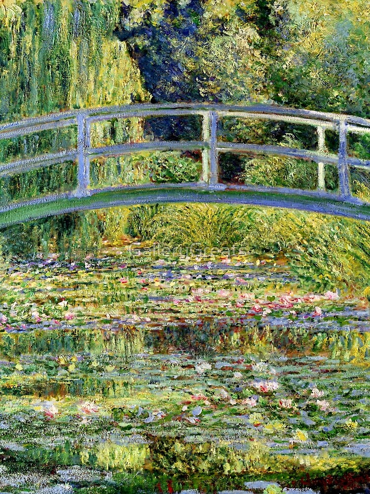 The Water-Lily Pond by Monet by GalleryGreats