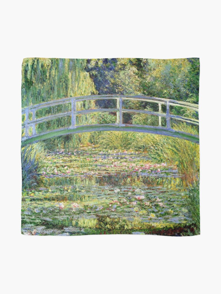Alternate view of The Water-Lily Pond by Monet Scarf
