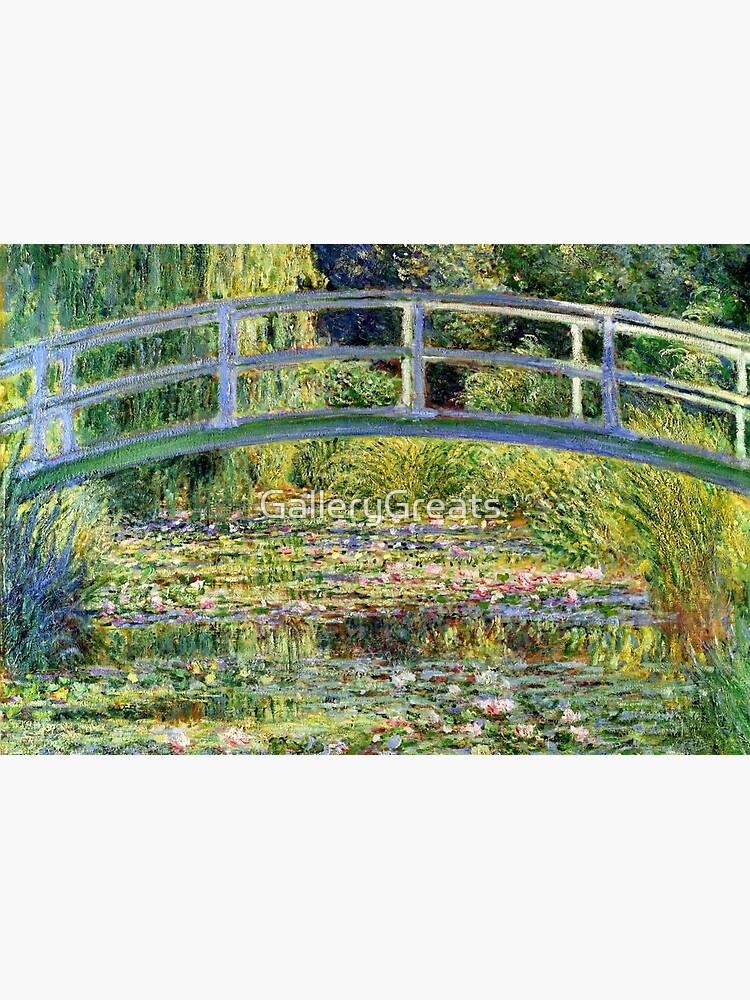 The Water-Lily Pond por Monet de GalleryGreats