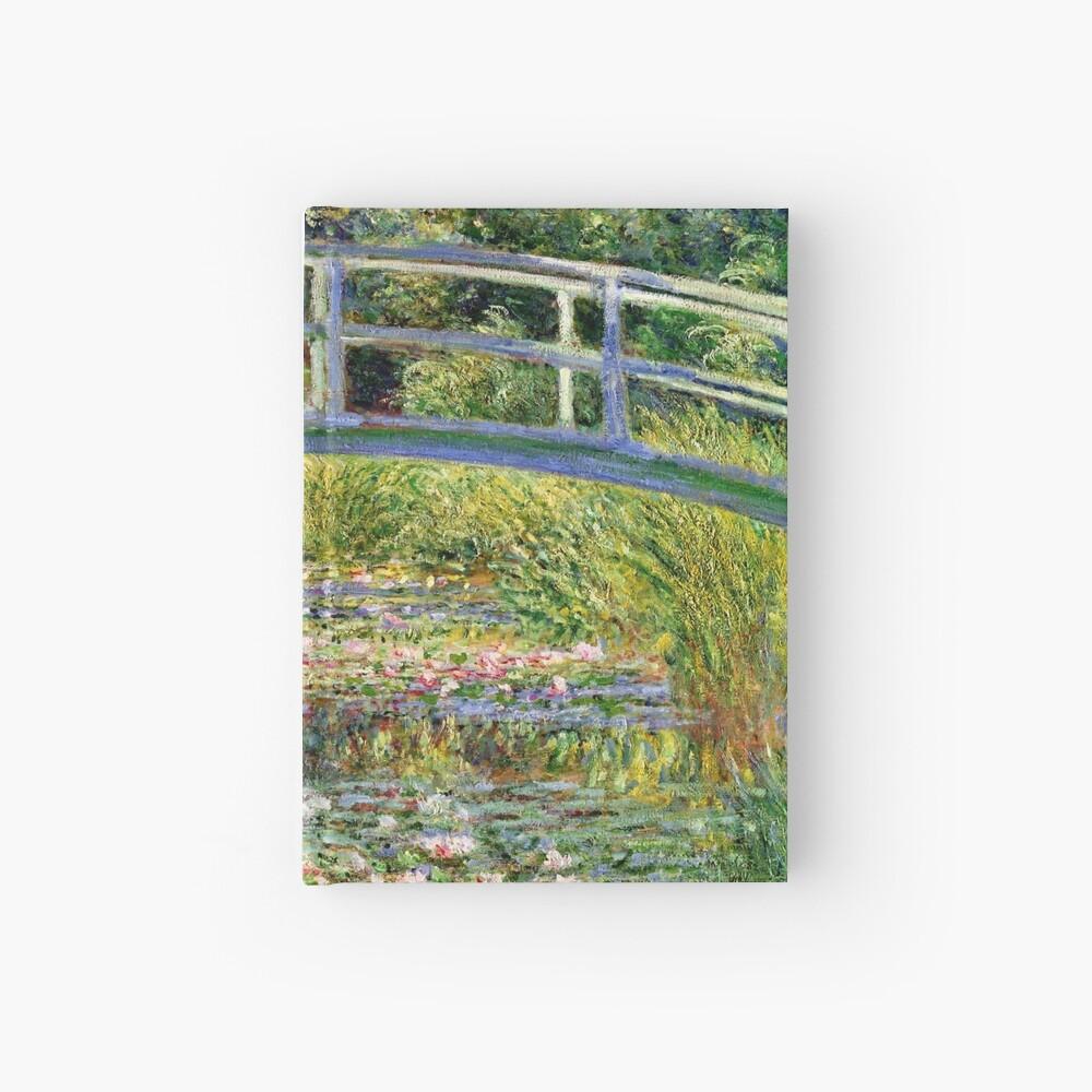 The Water-Lily Pond por Monet Cuaderno de tapa dura