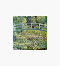 The Water-Lily Pond by Monet Art Board