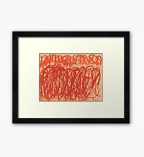 cy twombly Untitled (Bacchus) 2005 Framed Print