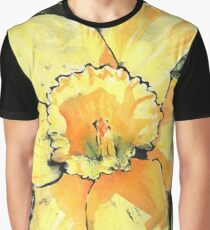 Spring Daffodil Graphic T-Shirt