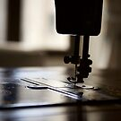 Nostalgia ...Sewing machine silhouette ... by LynnEngland